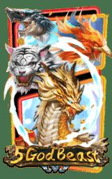 5 God Beast รีวิวเกมสล็อต PG SLOT pgslot