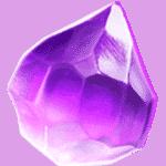 สัญลักษณ์ เพชรสีม่วง Galactic Gems