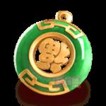สัญลักษณ์ เหรียญหยก Jewels of Prosperity