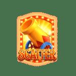 สัญลักษณ์ Scatter Circus Delight