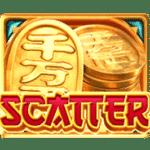 สัญลักษณ์ Scatter Lucky Neko