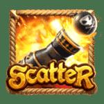 สัญลักษณ์ Scatter Queen of Bounty
