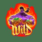 สัญลักษณ์ Wild Genie's 3 Wishes