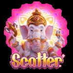 สัญลักษณ์ Scatter Ganesha Gold